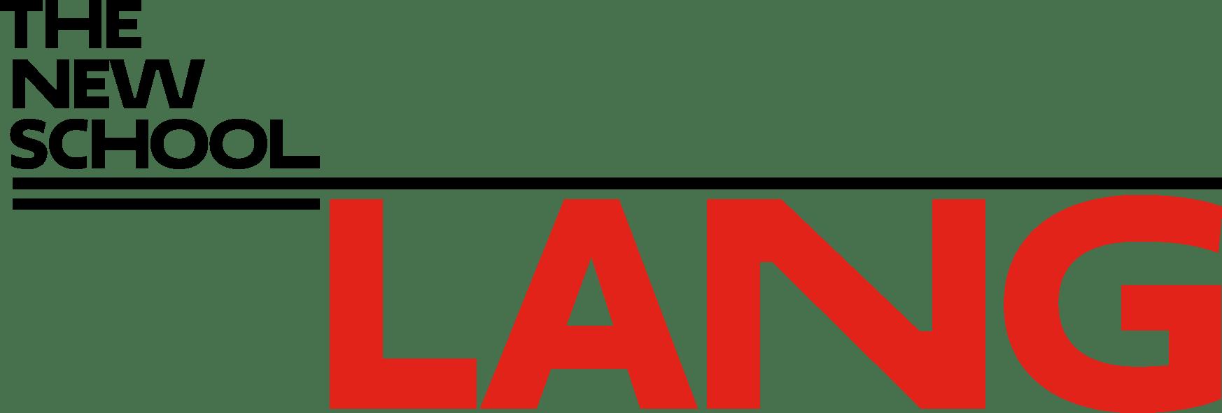 Eugene Lang The New School Logo