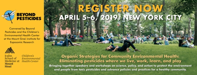 April 5-6: Beyond Pesticides Children's Health and Community